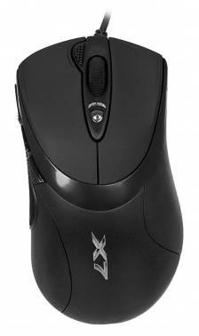Мышь A4 X-748K черный (X-748K USB)