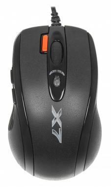 Мышь A4 XL-750MK черный (XL-750MK USB)