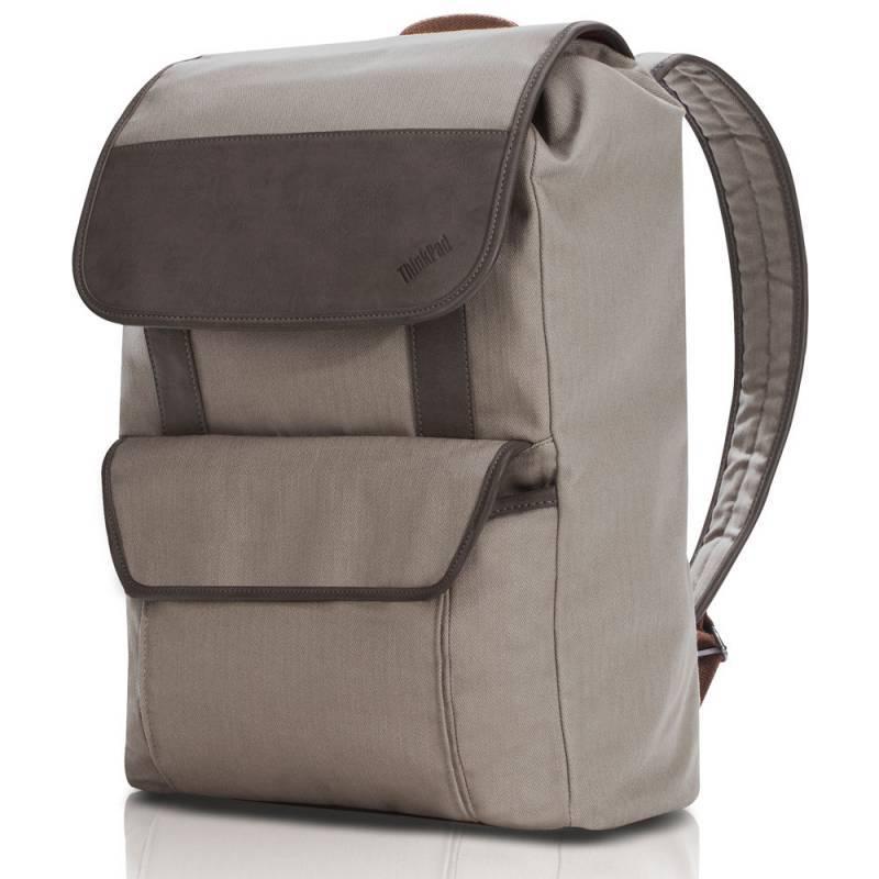 "Рюкзак для ноутбука 15.6"" Lenovo Casual бежевый - фото 1"