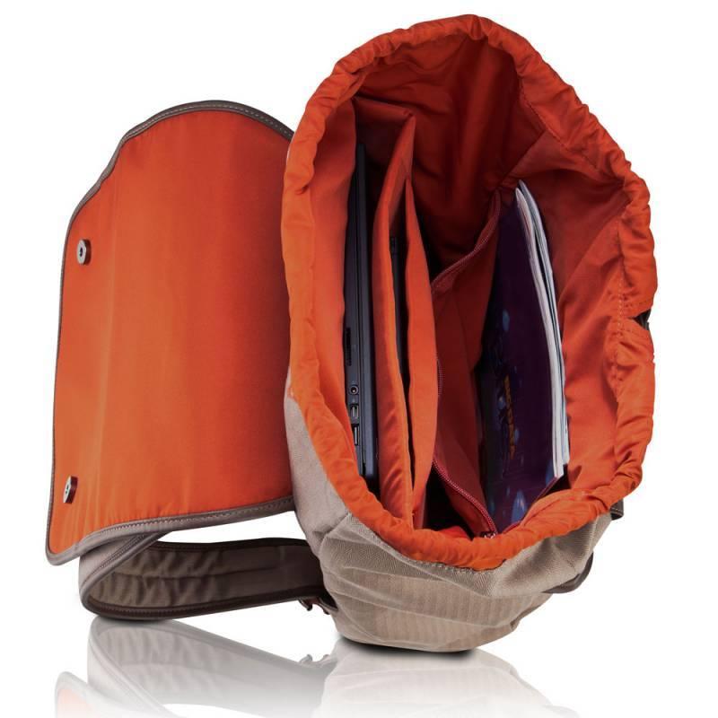 "Рюкзак для ноутбука 15.6"" Lenovo Casual бежевый - фото 2"