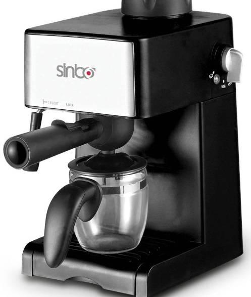 Кофеварка эспрессо Sinbo SCM 2925 черный - фото 1