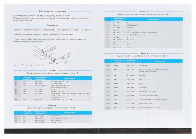 Блок питания для ноутбука Buro BUM-0036S40 - фото 9