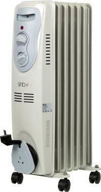 Масляный радиатор Sinbo SFH 3321 белый