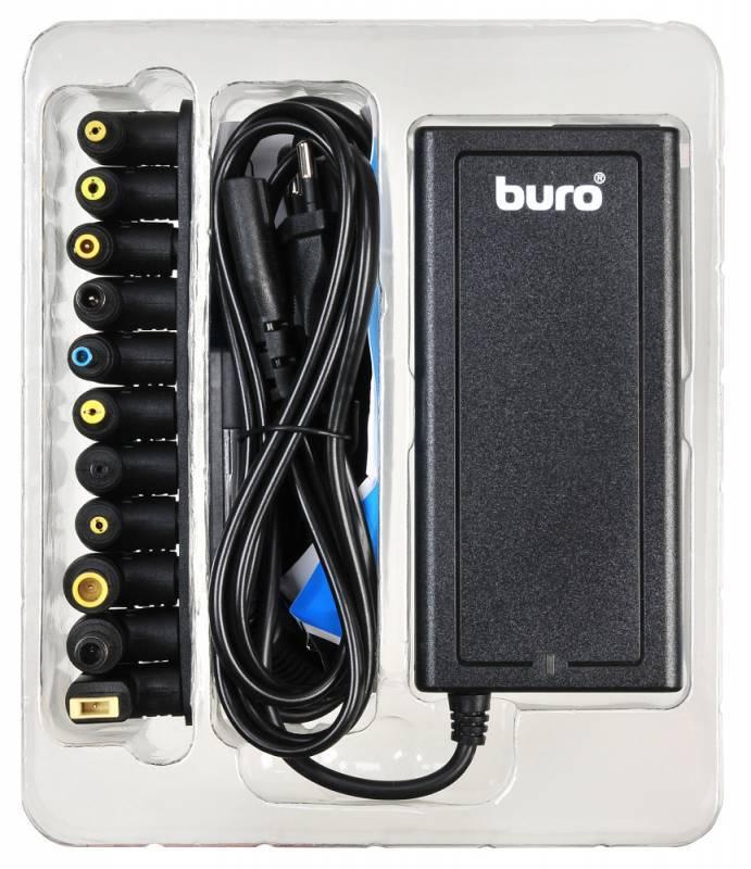 Блок питания для ноутбука Buro BUM-1284B90 черный - фото 4
