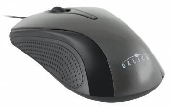 Мышь Oklick 215M черный / серый