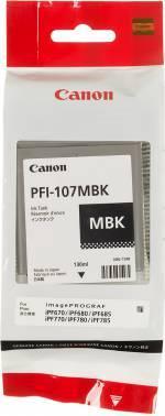 Картридж Canon PFI-107MBK черный матовый (6704B001)