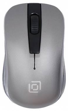Мышь Oklick 445MW черный / серый