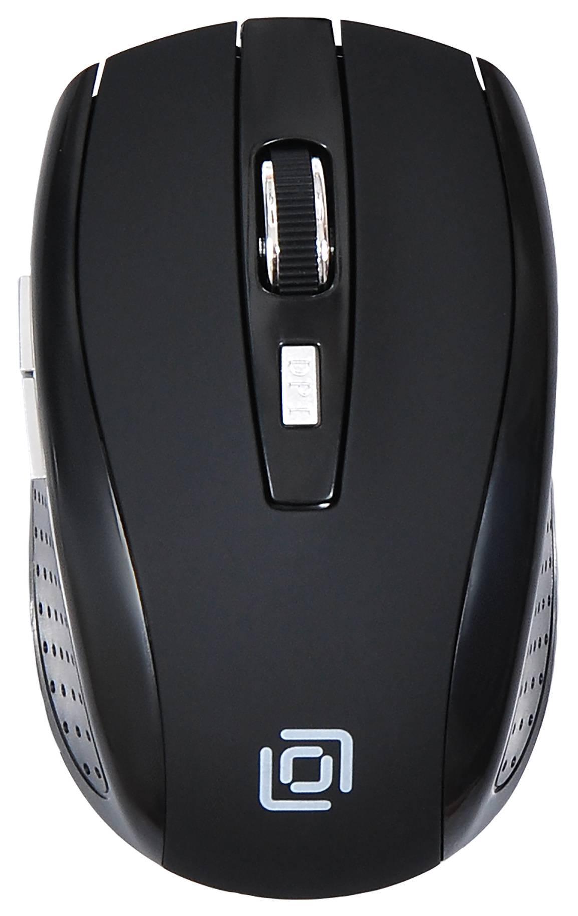 Мышь Oklick 455MW черный - фото 1