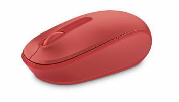 Мышь Microsoft Mobile Mouse 1850 красный