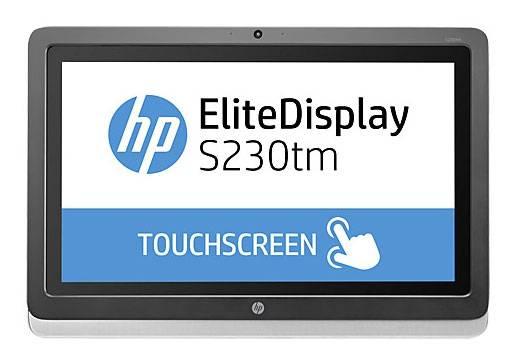 """Монитор 23"""" HP S230tm черный (E4S03AA) - фото 1"""