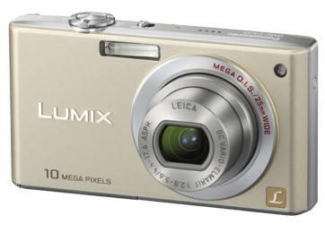 Фотоаппарат Panasonic Lumix DMC-FX35EE-N золотистый - фото 1