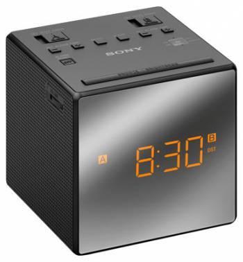 Радиобудильник Sony ICF-C1T черный (ICFC1TB.RU5)