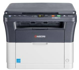 МФУ Kyocera FS-1020MFP серый/белый (1102M43RU0 / 1102M43RUV)