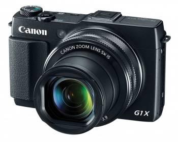 Фотоаппарат Canon PowerShot G1X MARK II черный (9167B002)