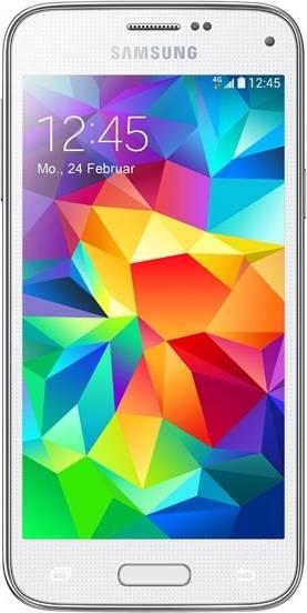 Смартфон Samsung Galaxy S5 mini SM-G800F 16ГБ белый - фото 1
