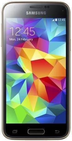 Смартфон Samsung Galaxy S5 mini SM-G800H/DS 16ГБ золотистый - фото 1