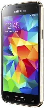 Смартфон Samsung Galaxy S5 mini SM-G800H/DS 16ГБ золотистый - фото 2