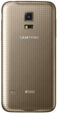 Смартфон Samsung Galaxy S5 mini SM-G800H/DS 16ГБ золотистый - фото 3