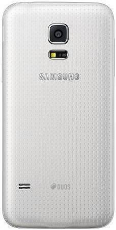 Смартфон Samsung Galaxy S5 mini SM-G800H/DS 16ГБ белый - фото 2