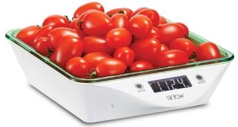Кухонные весы Sinbo SKS 4520 зеленый - фото 1