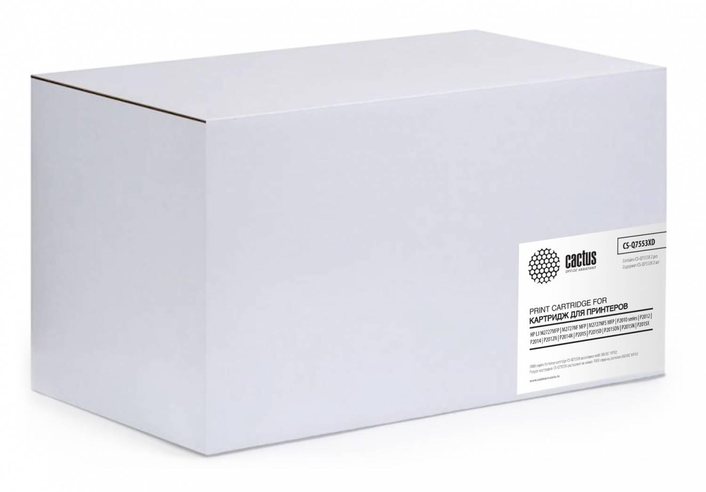 Тонер Картридж Cactus CS-Q7553XD черный - фото 1