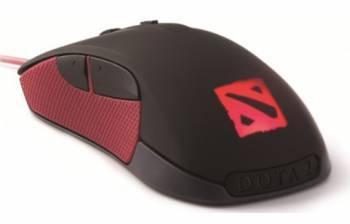 Мышь Steelseries Rival Dota 2 черный / красный
