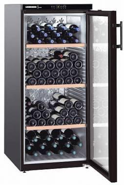 Винный шкаф Liebherr WKb 3212 Vinothek черный