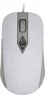 Мышь Steelseries SIMS4 белый/серый (62281)