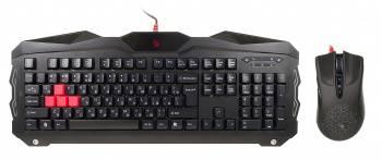 Комплект клавиатура+мышь A4 Bloody Q2100 / B2100 (Q210+Q9) черный / черный