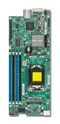 Серверная материнская плата Soc-1155 SuperMicro MBD-X9SCE-F-B bulk