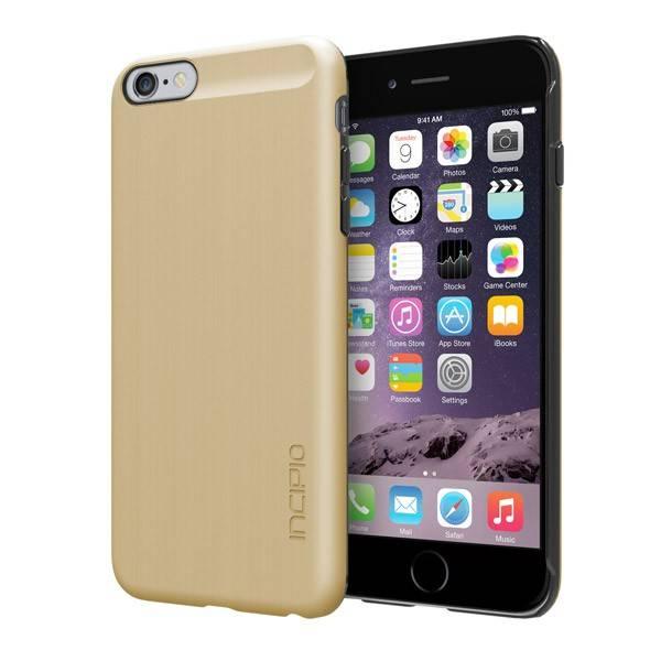 Чехол Incipio Feather Shine, для Apple iPhone 6 Plus, золотистый (IPH-1194-GLD) - фото 1