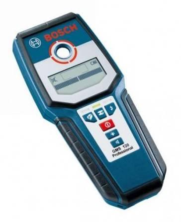 Детектор металла Bosch GMS 120 Professional (0601081000) - фото 1