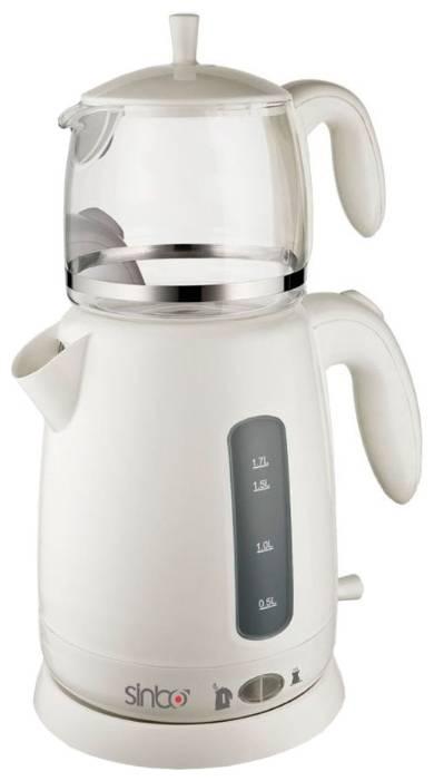 Чайный набор Sinbo STM 5700 белый - фото 1