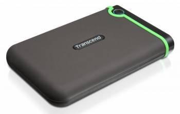 Внешний жесткий диск 1Tb Transcend TS1TSJ25M3B StoreJet 25M3 голубой USB 3.0