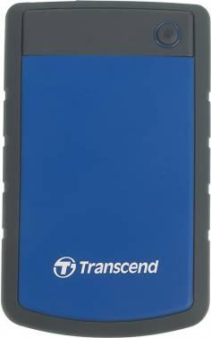 Внешний жесткий диск 2Tb Transcend StoreJet 25H3 TS2TSJ25H3B синий USB 3.0