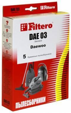 Пылесборники Filtero DAE 03 Standard