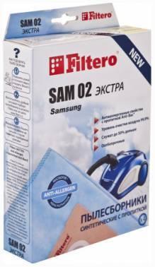 Пылесборники Filtero SAM 02 Экстра