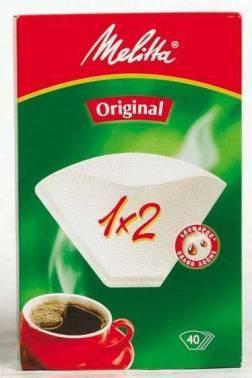 Фильтры для кофе для кофеварок капельного типа Filtero №2 белый, в упаковке 40шт. (№2/40)