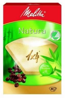 Фильтры для кофе для кофеварок капельного типа Filtero №4 коричневый, в упаковке 80шт. (№4/80)