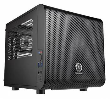 Корпус miniITX Thermaltake Core V1 черный (CA-1B8-00S)