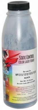 Тонер для принтера Static Control HP1515-55B-K черный 55 грамм