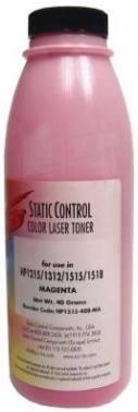 Тонер для принтера Static Control HP1515-40B-MA пурпурный 40 грамм