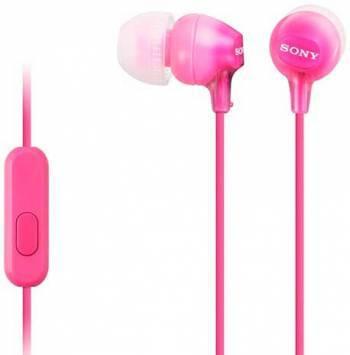 Гарнитура Sony MDR-EX15AP розовый (mdrex15appi.ce7)