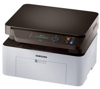 МФУ Samsung SL-M2070 белый - фото 1