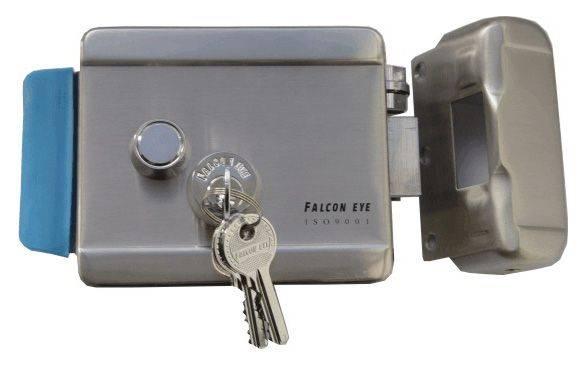 Замок электромеханический Falcon Eye FE-2369 серебристый - фото 1