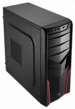 Корпус ATX Aerocool V2X черный/красный (V2X RED)
