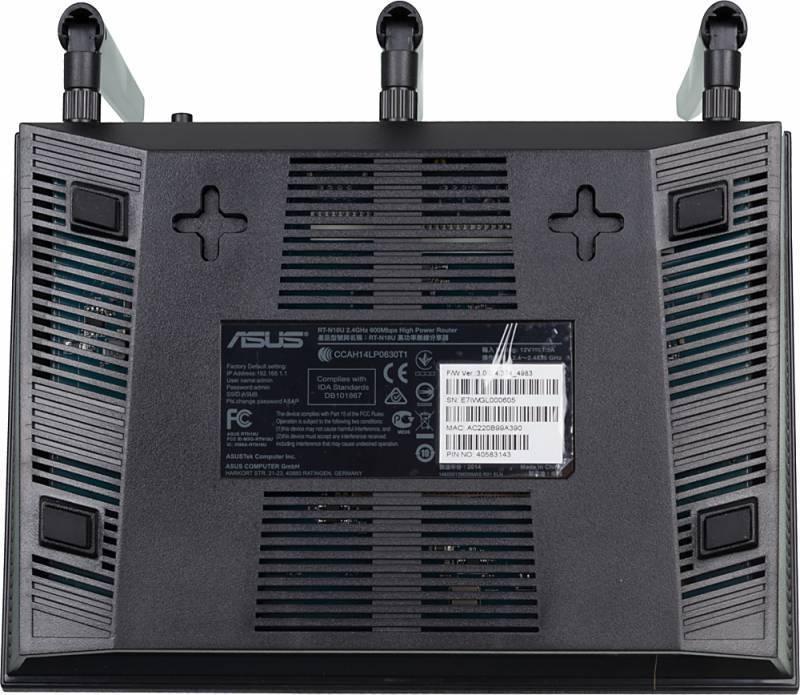 Маршрутизатор беспроводной Asus RT-N18U черный - фото 9