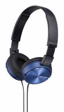 Наушники Sony MDR-ZX310 синий (MDRZX310L.AE)