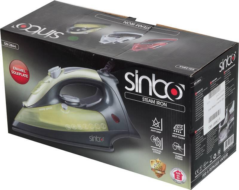 Утюг Sinbo SSI 2844 зеленый - фото 8