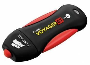 Флеш диск Corsair Voyager GT 32ГБ USB3.0 черный/красный (CMFVYGT3B-32GB)